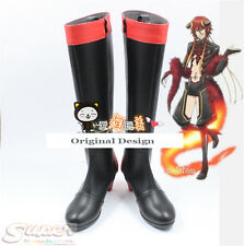 Hot Sale Kamigami no Asobi Loki·Laevatein Long Boot Party Shoes Cosplay Boots