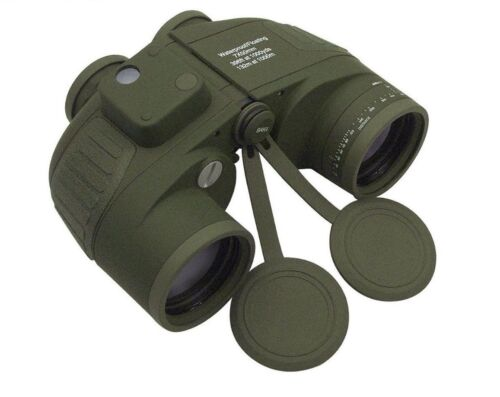 Military Type 7 x 50MM Binoculars  Olive Drab Waterproof 20272 Rothco