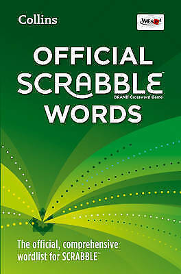 1 of 1 - Collins Official Scrabble Words [Fourth Edition] ... LIKE NEW..r18