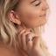 Origami-Owl-Rose-Gold-45mm-Flat-Hoop-Earrings thumbnail 2