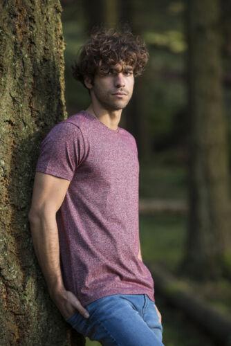 AWDIS Ecologie régénérée coton Tulum TeePlain Fashion Environmental T-Shirt