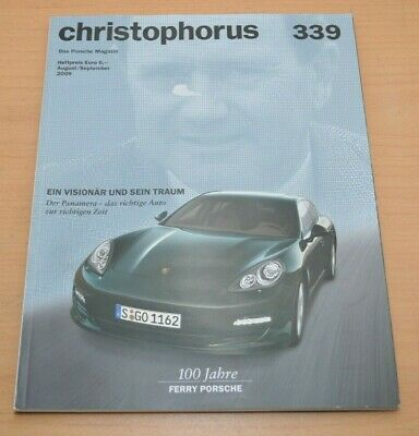 Geschickt Porsche Christophorus Nr. 339 Magazin 08/09 Panamera 911 Gt3 Schrecklicher Wert