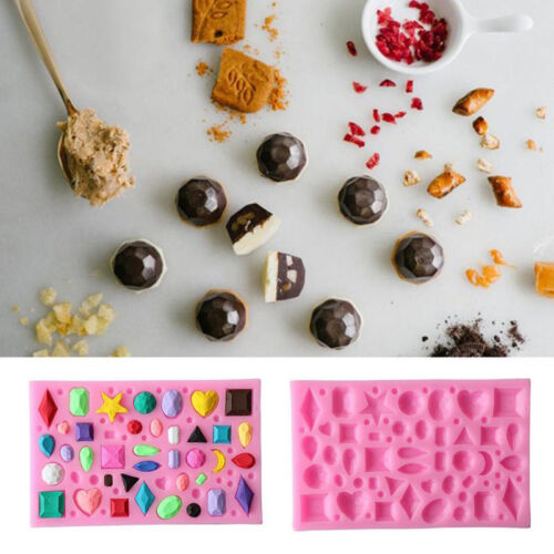 Silicone Cake Fondant Mold Chocolate Pastry Baking Mould Decor Sugarcraft zzvv