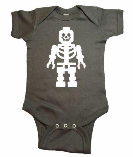 Halloween Skeleton Rib Black Bodysuit Girls Baby Dress Leg Warmer Outfit NB-18M