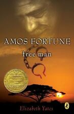 Newbery Library, Puffin: Amos Fortune, Free Man by Elizabeth Yates (1989, Paperback)