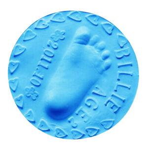 5pcs Soft Air Drying Clay Baby Handprint Footprint Imprint Impression Keepsake