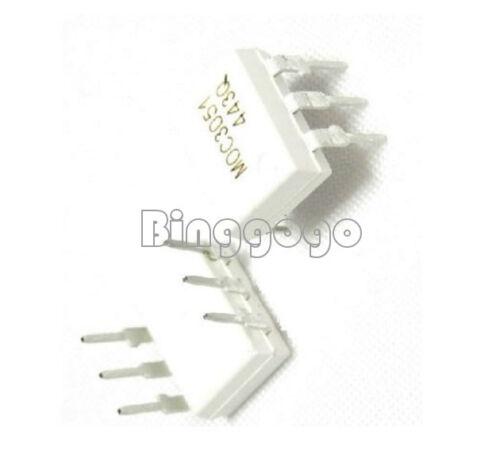 5Stks IC MOC3051 FSC OPTOCOUPLER TRIAC-OUT 6-DIP