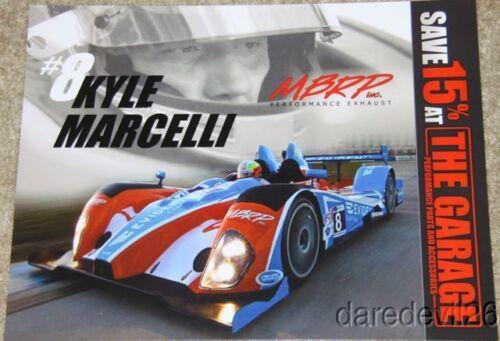 2013 Kyle Marcelli BAR1 Motorsports Chevy Oreca PC ALMS postcard