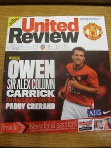 05-08-2009-Manchester-United-v-Valencia-Friendly-Thanks-for-viewing-our-item