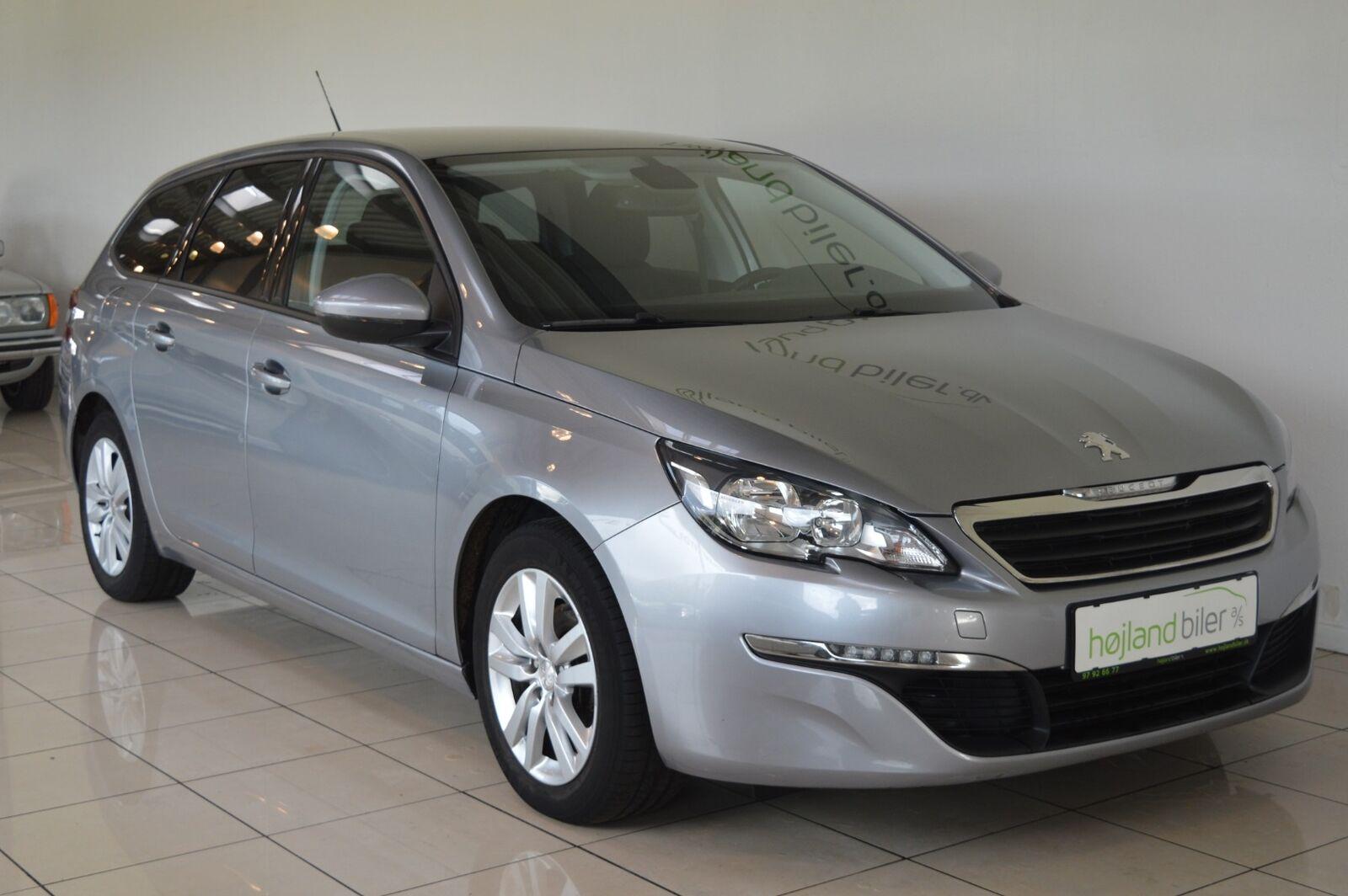 Peugeot 308 1,6 BlueHDi 120 Active SW 5d - 139.900 kr.