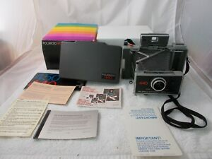 Polaroid-440-Land-Camera-Film-Loaded-w-Box-and-Instructions-EXCELLENT
