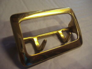 "Gould /& Goodrich Sam Browne Duty Belt Buckle Brass Fits up to 2-1//4/"" 125-BR"