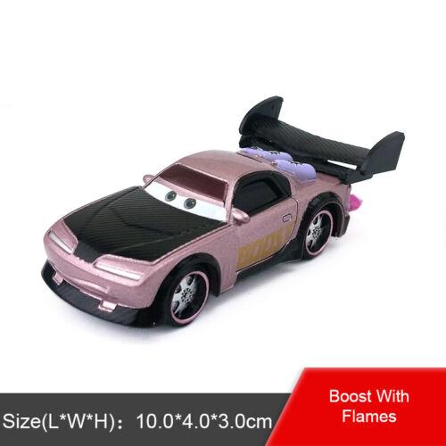 Disney Pixar Cars Lightning McQueen King Sally Lizzie 1:55 Metal Toy Car Model