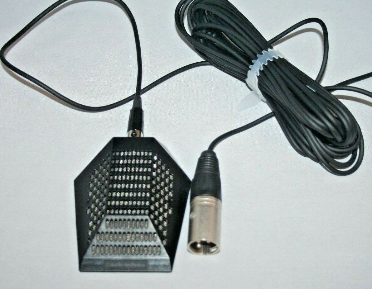 Audio Tech PRO 44 Condenser Professional Boundry Microphone w//cable ships FREE