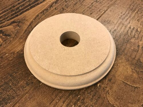 MDF Pattress Base 18mm thick wood Ceiling rose,Sconce Light Mount