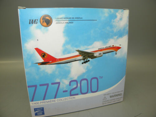 DRAGON 55036 TAAG ANGOLA AIRLINES 777-200 D2-TED  1//400 PLANE NEW