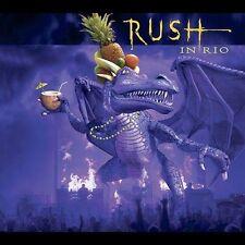 Rush 3 CD SET. in Rio by Rush (CD, Oct-2003, 3 Discs, Atlantic (Label)) LIVE