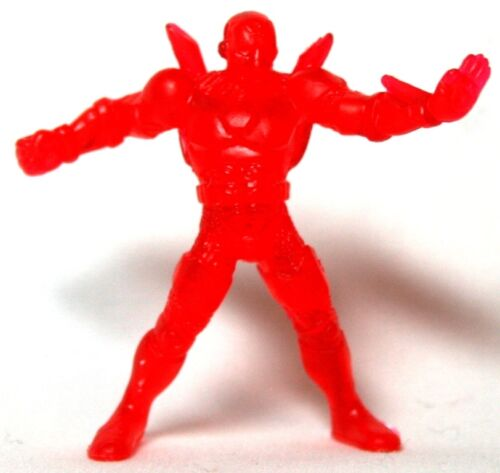 HASBRO Marvel Handful of Heroes Wave 1-Iron Man A translucide rouge brique