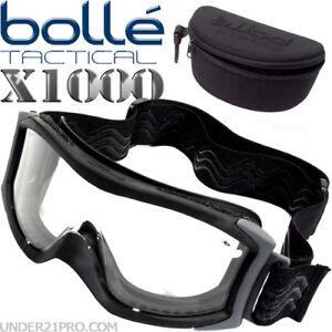 119626246924ca Masque Bollé Tactical X1000 noir écran balistique standard airsoft ...