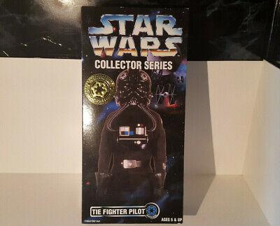 (lotto 257 F) Hasbro Star Wars Da Collezione Serie Il Pilota Da Combattimento 12 Pollici 1997-mostra Il Titolo Originale Texture Chiara
