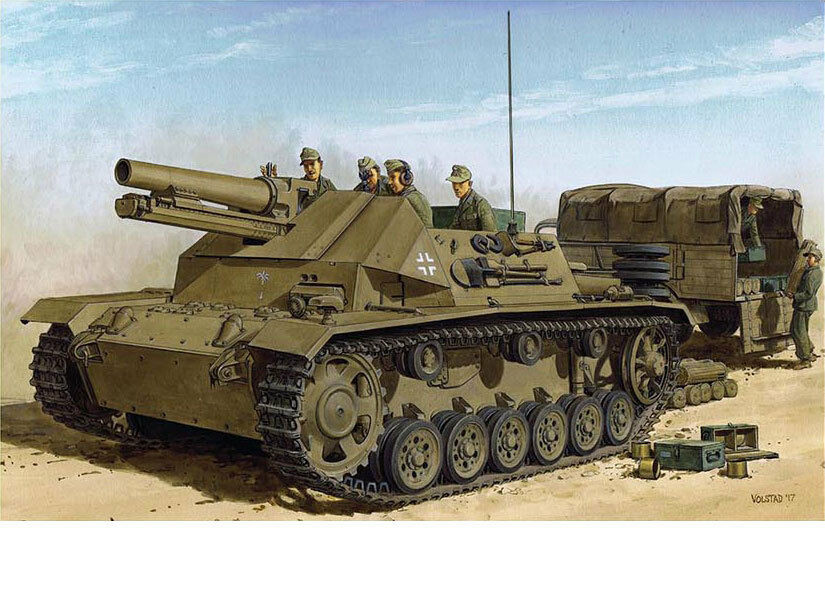 Dragon 1 35 DAK 15cm s.IG.33 auf FgstPz.III