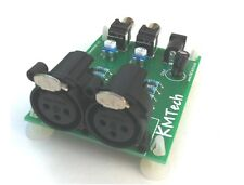 Stereo Balanced to Unbalanced Audio Line Converter Adapter ULTRA LOW NOISE