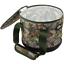 2 X Appât Poubelle Seaux Poignées /& Zip Top Camouflage pour Boilies Pellets Pêche à La Carpe