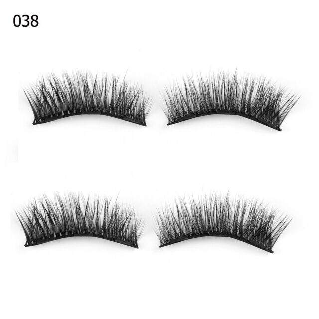 84fd08c65e5 Skonhed 4pc Triple Magnetic False Eyelashes Extension Tools Full ...