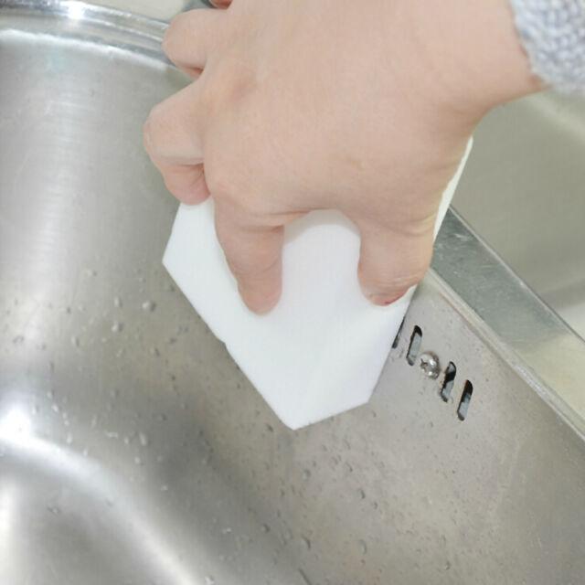 10Pcs High Quality Cleaning Magic Sponge Eraser Melamine Cleaner White