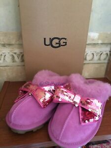 UGG Slippers Women   Where Can I Buy Pink Kids UGG Sequin