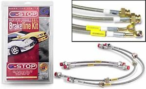 Goodridge Stainless Steel Brake Line Kit for 03-On Mazda RX-8;4 Line;All Models