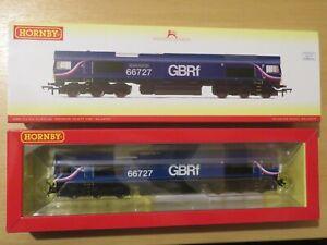 *NEW* DCC SOUND Hornby R3881TTS Class 66 66727 GBRf Andrew Scott CBE OO Gauge