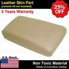 Fits 01 04 Nissan Pathfinder Leather Center Console Lid Armrest Cover Beige Tan Fits Nissan