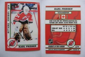 2015-SCA-Karl-Friesen-New-Jersey-Devils-goalie-never-issued-produced-d-10-rare