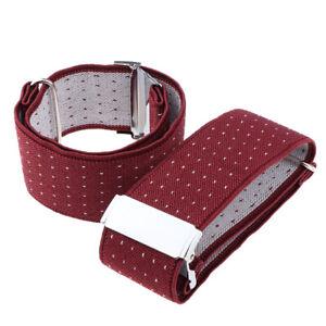 Damen-Herren-Hemd-Armelhalter-elastisch-verstellbar-Huelsenhalter-Armband