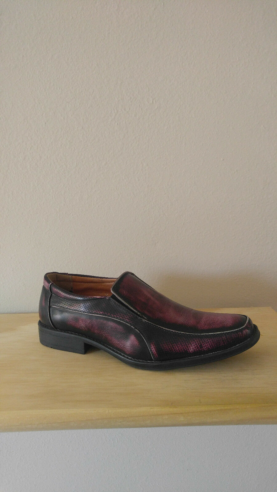 Men's casual Sedagatti, loafer, Sedagatti, casual Red, Size 8.5 2e6cc5