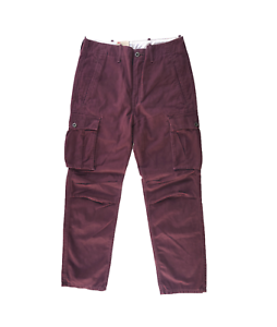 NEW-MENS-LEVIS-RELAXED-FIT-ACE-CARGO-TWILL-PANTS-VIOLET-PURPLE-124620039
