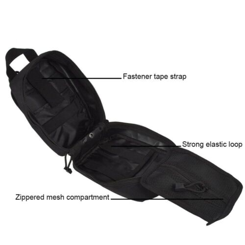 Tactical Survival MOLLE Rip Away First EMT Medical First Aid IFAK Pouch Bag Only