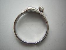Katzenring Ring mit Katze lovely cat in Sterling Silber 925 verstellbar UNIKAT