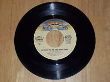 Vintage Captain & Tennille Do That To Me One More Time/Deep Dark  45 RPM Record
