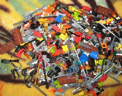 Lego Ritter-City verschiedene Figuren Zubehör 30 Teiliges