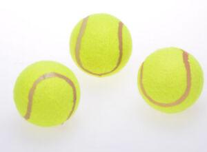 filmer tennisb lle tennisball 3 st ck 20429 spielball f r hunde katzen gelb ebay. Black Bedroom Furniture Sets. Home Design Ideas