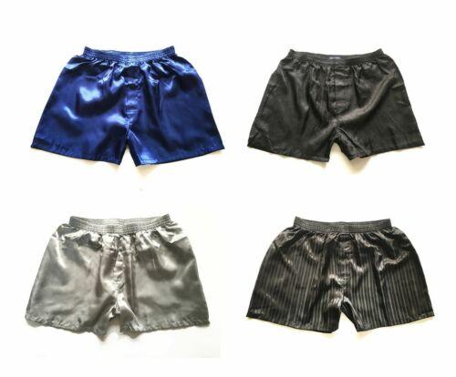 4//8//10 Paar Herren Satin Silk Boxershorts Schlafanzughose Nachtwäsche Unterhosen