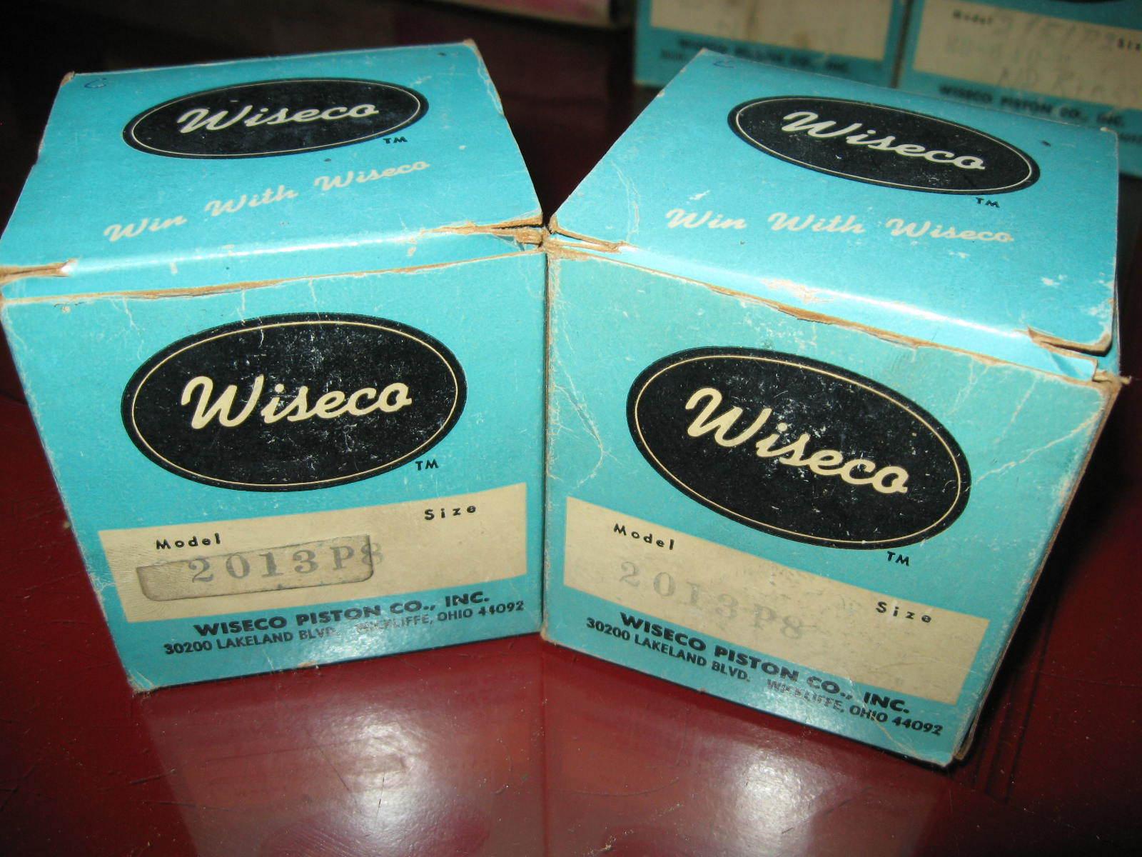 1971 1972 CCW Kioritz 400 2_3_4_21 Wiseco Piston Kits x2_2mm os_Mercury_Scorpion