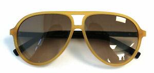 Karl Lagerfeld KL Matte Yellow Womens Plastic UV Shades Sunglasses KL792S 135 K