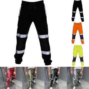 MENS-HI-VIS-VISIBILITY-WORKWEAR-SAFETY-HIGH-VIZ-VISIBILITY-HAREM-PANTS-TROUSERS