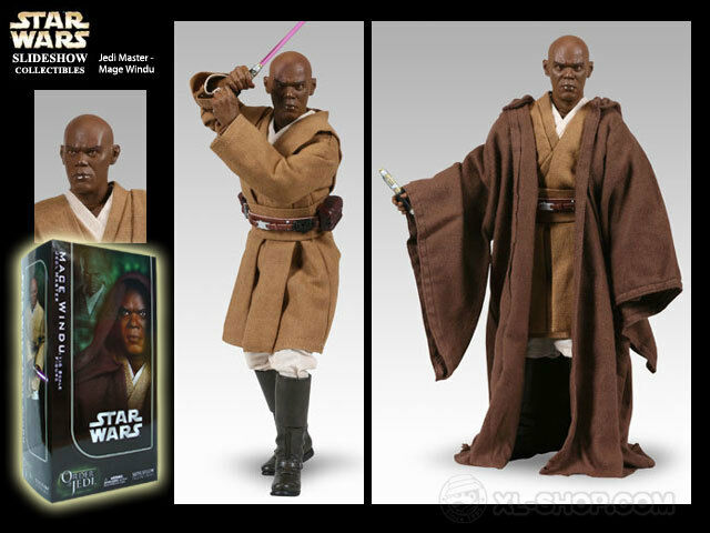auténtico Sideshow Collectibles Collectibles Collectibles Mace Windu Orden Del Jedi 1 6 figura  envio rapido a ti