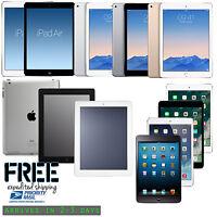 Apple iPad 2/3/4,Air 1/2,mini,2,3,4 WiFi Retina Display Tablet 16GB 32GB 64GB