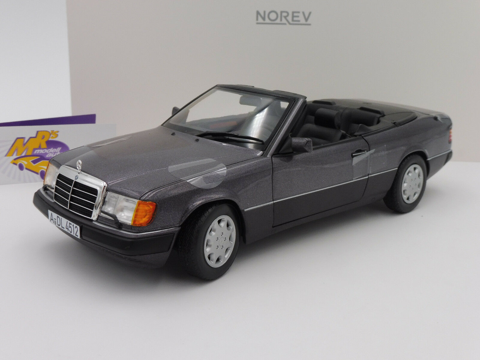 Norev 183567   Mercedes Benz 300 CE W124 Cabrio Bj. 1990   purplemetallic   1 18
