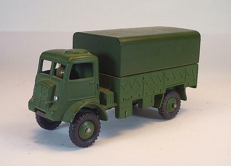 Dinky Toys Supertoys nº 623 Army Wagon camiones pr pl verde oliva militar 2